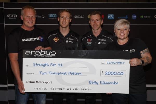 Erebus donates to Strength for 91